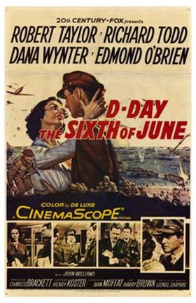 Framed D-Day the Sixth of June Print