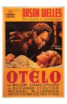 Framed Othello - Orange Print