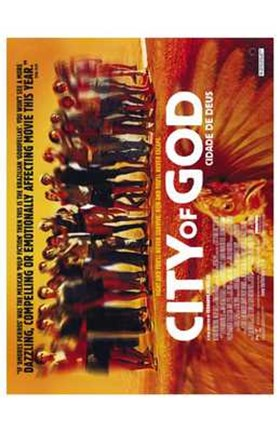 Framed City of God Print