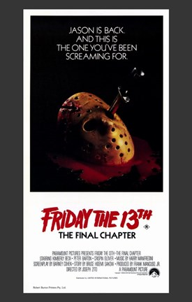 Framed Friday the 13Th Part 4 --The Final Chapter Print