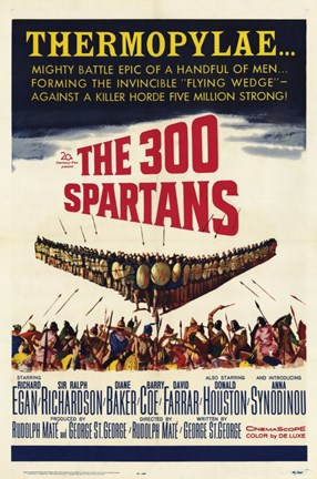 Framed 300 Spartans Print