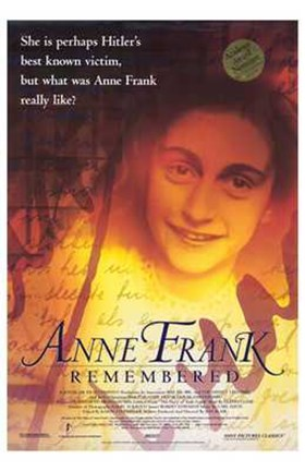 Framed Anne Frank Remembered Print