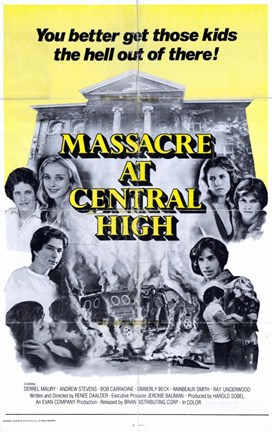 Framed Massacre At Central High Print