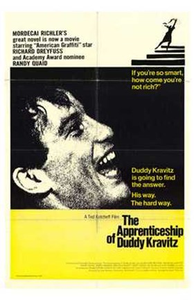 Framed Apprenticeship of Duddy Kravitz Richard Dreyfuss Print