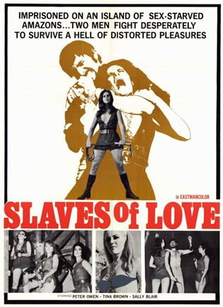 Framed Slaves of Love Print