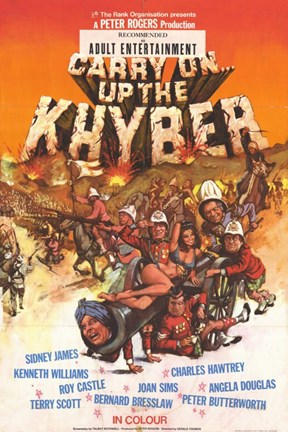 Framed Carry on Up the Khyber Print