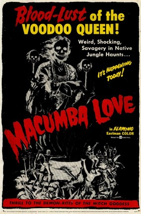 Framed Macumba Love Print