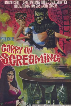 Framed Carry on Screaming Print