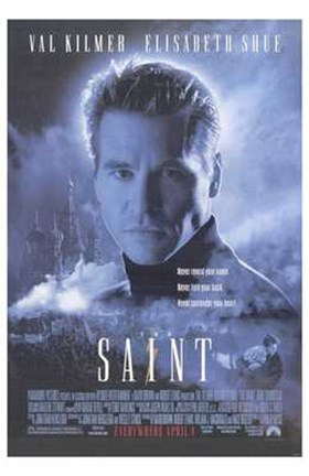Framed Saint Movie Print