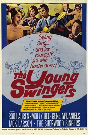 Framed Young Swingers Print