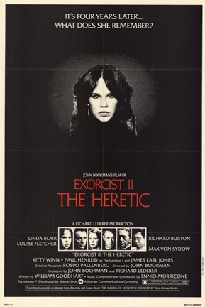 Framed Exorcist 2 Heretic Print