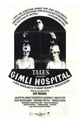 Framed Tales from Gimli Hospital Print