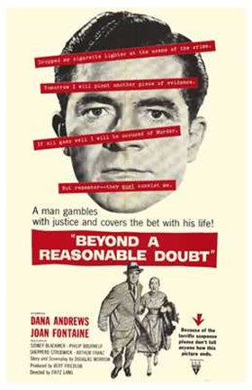 Framed Beyond a Reasonable Doubt Print