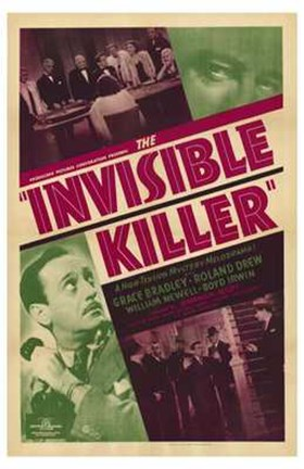 Framed Invisible Killer Print