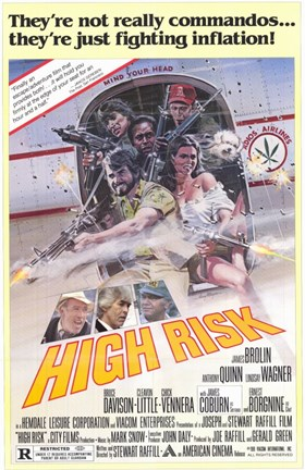 Framed High Risk Print
