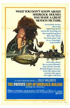 Framed Private Life of Sherlock Holmes Print