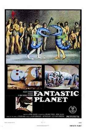 Framed Fantastic Planet, c.1973 Print