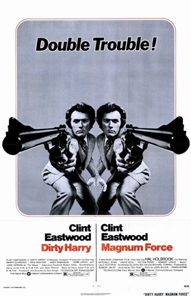 Framed Magnum Force-Dirty Harry Print
