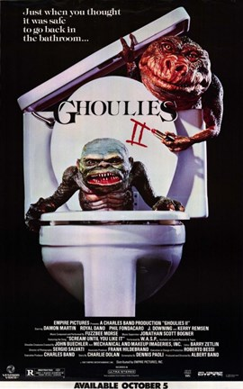 Framed Ghoulies 2 Print