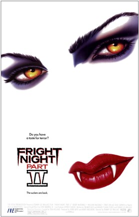 Framed Fright Night Part II - (white) Print