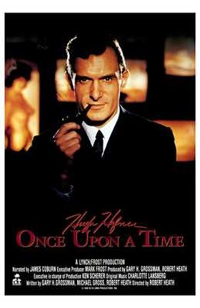 Framed Hugh Hefner: Once Upon a Time Print