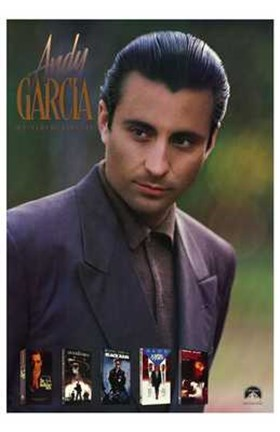 Framed Andy Garcia Print