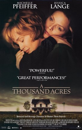 Framed Thousand Acres Movie Poster Print