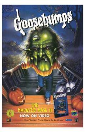 Framed Goosebumps: the Haunted Mask 2 Print