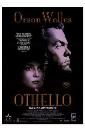 Framed Othello - Prspm Welles Print