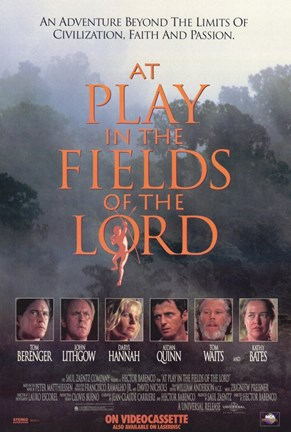 Framed At Play in the Fields of the Lord Print