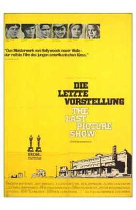 Framed Last Picture Show German Print