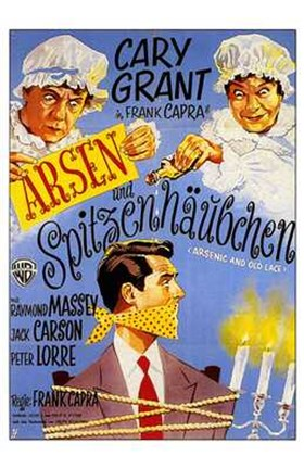 Framed Arsenic and Old Lace Print