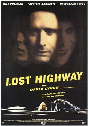 Framed Lost Highway - Faces Print