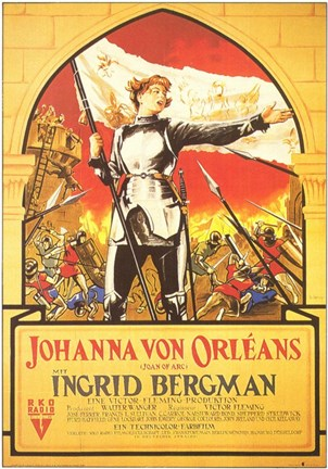 Framed Joan of Arc Print