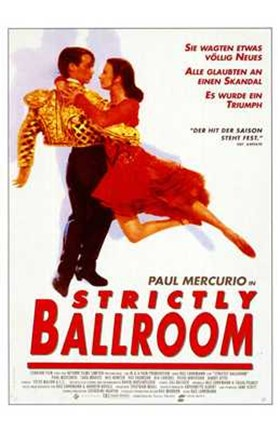 Framed Strictly Ballroom Paul Mercurio Print