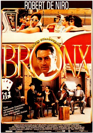 Framed Bronx Tale (German) Print