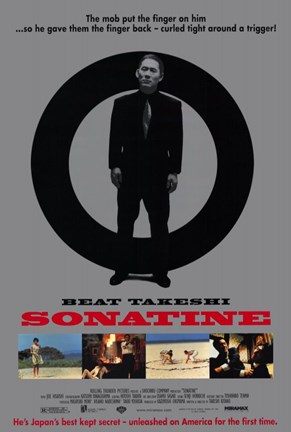 Framed Sonatine Beat Takeshi Print