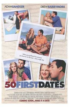 Framed 50 First Dates - pictures Print