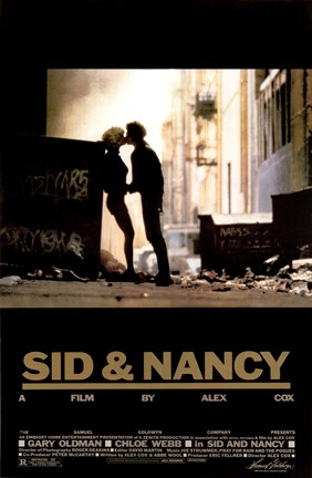 Framed Sid and Nancy Print