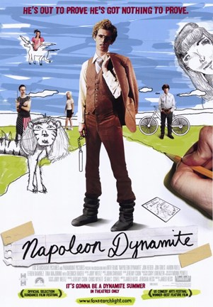 Framed Napoleon Dynamite Nothing to Prove Print