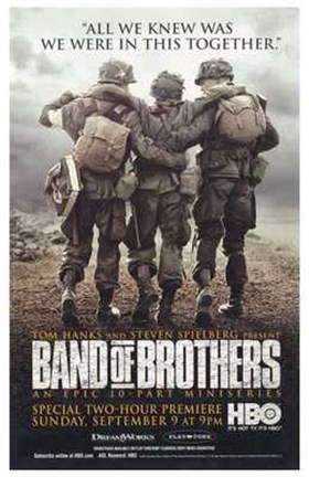 Framed Band of Brothers HBO Print