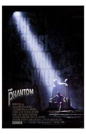 Framed Phantom - Black Print