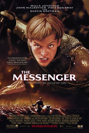 Framed Messenger: the Story of Joan of Arc Milla Jovovich Print