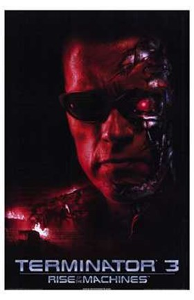 Framed Terminator 3: Rise of the Machines Arnold Schwarzeneger Print
