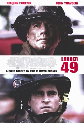 Framed Ladder 49 Bond Forged Never Broken Print
