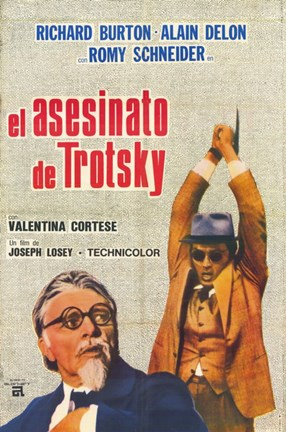 Framed Assassination of Trotsky Print
