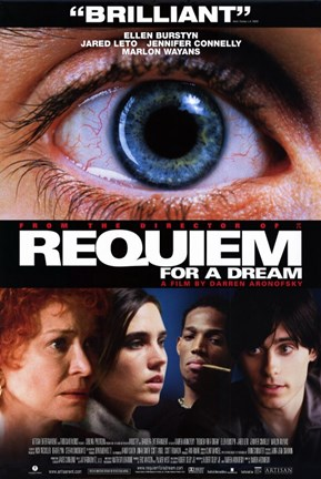 Framed Requiem for a Dream Ellen Burstyn Print