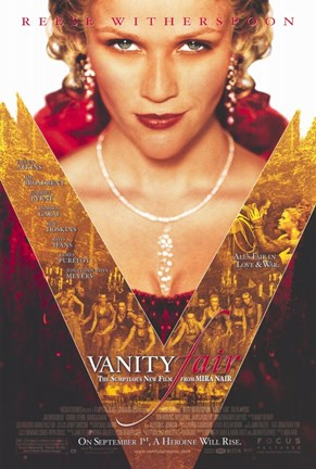 Framed Vanity Fair movie poster Print