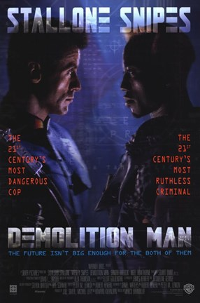 Framed Demolition Man Print