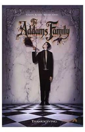 Framed Addams Family Print